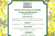 Festa delle Donne – 2 proposte di menù